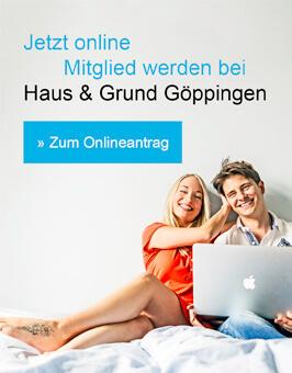 Online Mitglied werden Haus & Grund Göppingen